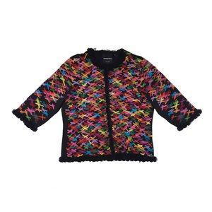 Michael Simon New York multi color jacket